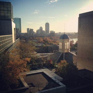 The view from the Lunder building, taken by Aura Obando.